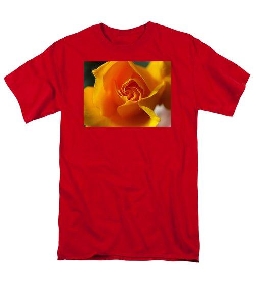 Yellow Swirl Men's T-Shirt  (Regular Fit) by Joe Schofield