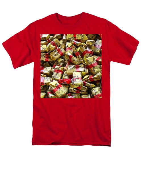 Men's T-Shirt  (Regular Fit) featuring the photograph Mary Janes by Beth Saffer