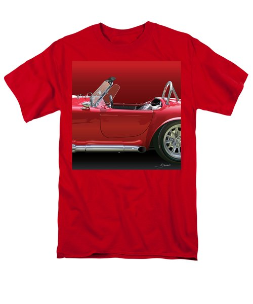 Ac Cobra Detail Men's T-Shirt  (Regular Fit) by Alain Jamar