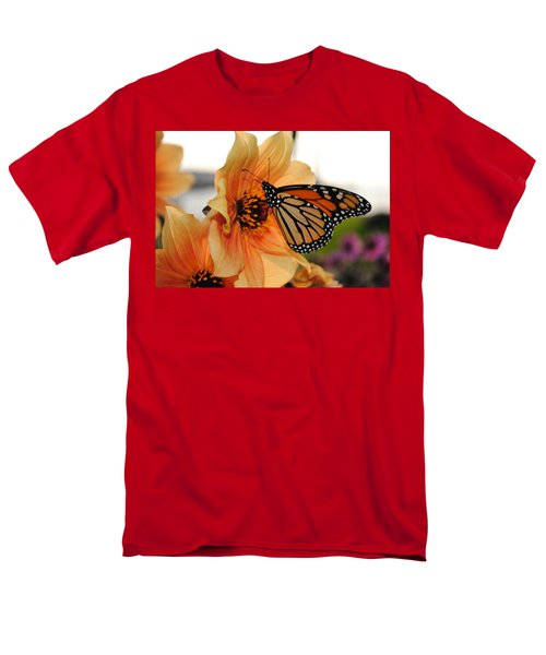 Men's T-Shirt  (Regular Fit) featuring the photograph Colors In Sync by Michael Frank Jr