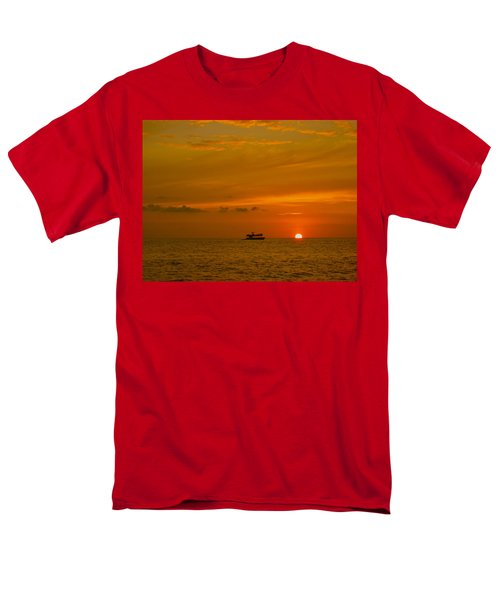 Men's T-Shirt  (Regular Fit) featuring the photograph Costa Rica Sunset by Eric Tressler