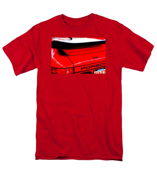 Men's T-Shirt  (Regular Fit) featuring the photograph Dead Red Turbo by John Schneider