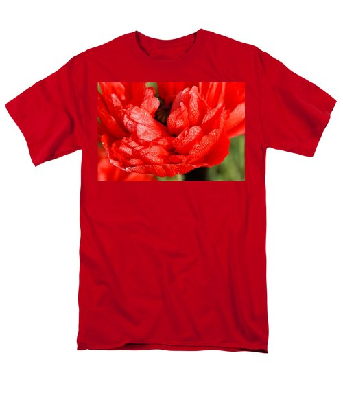 Men's T-Shirt  (Regular Fit) featuring the photograph Dewdrops by Fotosas Photography
