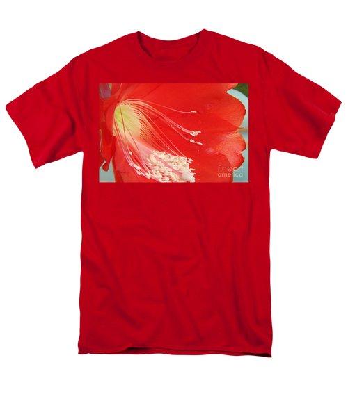 Fire Cactus Men's T-Shirt  (Regular Fit) by Priscilla Richardson