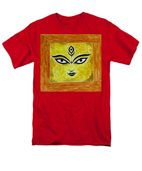 Men's T-Shirt  (Regular Fit) featuring the painting Goddess Kali by Sonali Gangane