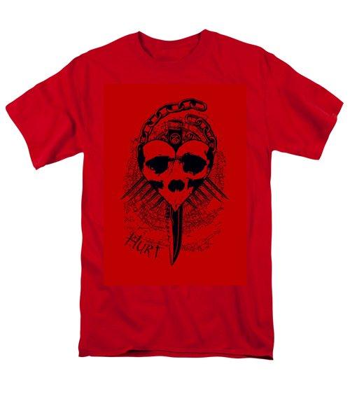 Hurt Men's T-Shirt  (Regular Fit) by Tony Koehl