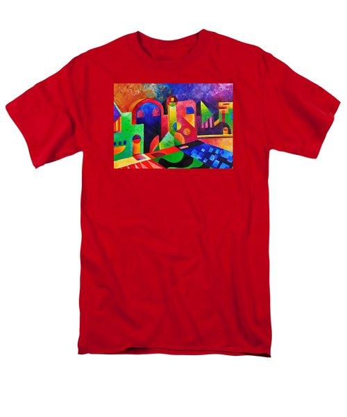 Little Village By Sandralira Men's T-Shirt  (Regular Fit) by Sandra Lira