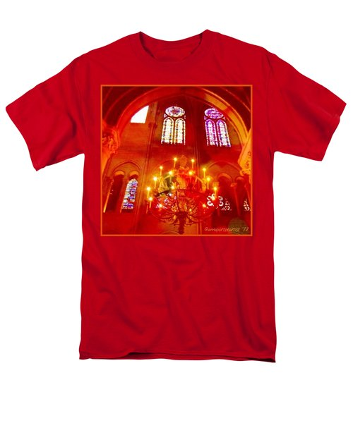 Notre Dame Cathedral - Paris France Men's T-Shirt  (Regular Fit) by Anna Porter