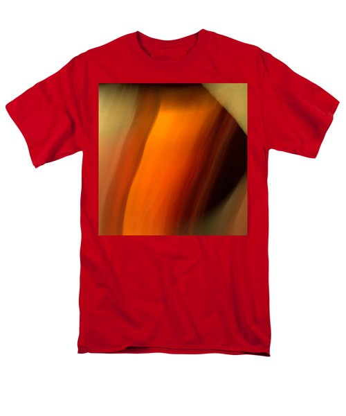Men's T-Shirt  (Regular Fit) featuring the mixed media O'keefe I by Terence Morrissey