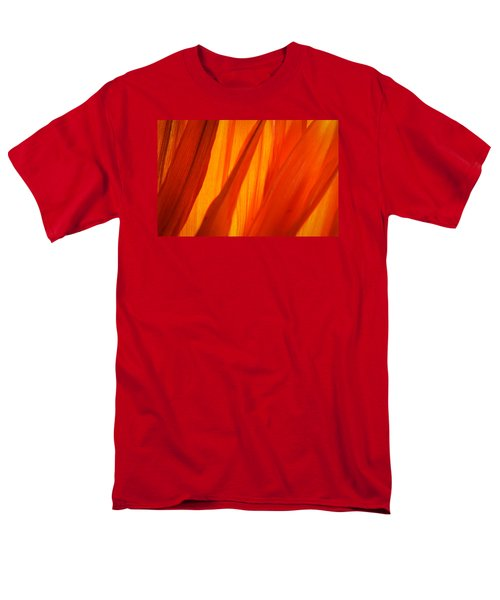 Orange Sunshine Men's T-Shirt  (Regular Fit) by Bobby Villapando