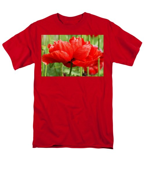 Men's T-Shirt  (Regular Fit) featuring the photograph Red And Green by Fotosas Photography
