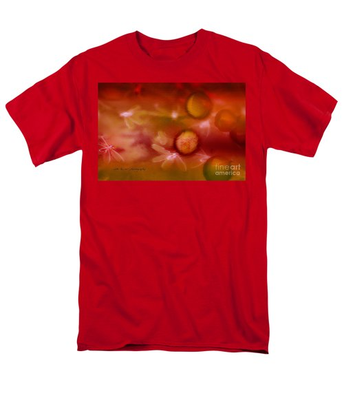 Red Pearl Dragon Fly Men's T-Shirt  (Regular Fit) by Vicki Ferrari
