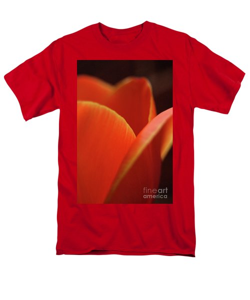Men's T-Shirt  (Regular Fit) featuring the photograph Red Tulip by Jeannette Hunt