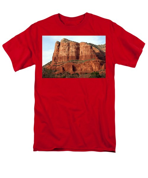 Sedona Red Men's T-Shirt  (Regular Fit) by Debbie Hart