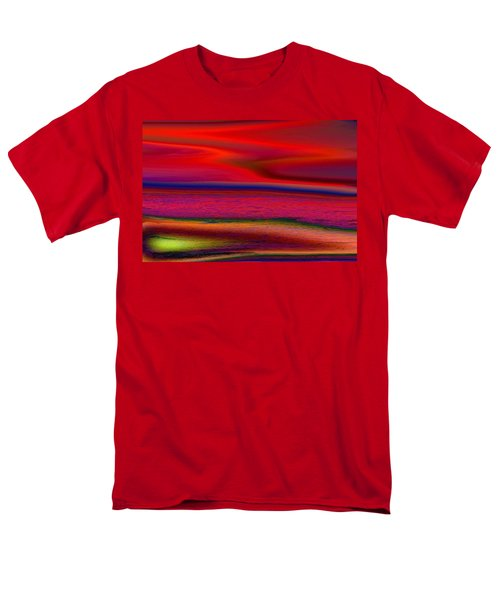 The Lonely Beach Men's T-Shirt  (Regular Fit) by David Pantuso