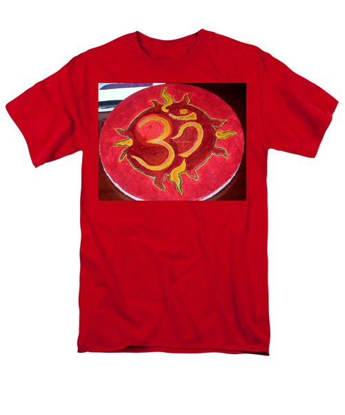 Men's T-Shirt  (Regular Fit) featuring the painting The Omnipotent Aumkar by Sonali Gangane