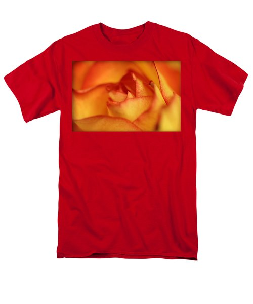 Men's T-Shirt  (Regular Fit) featuring the photograph The Rose by EricaMaxine  Price