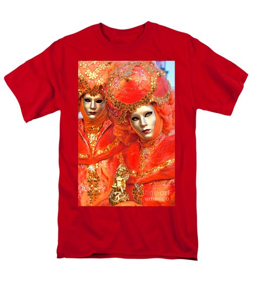 Men's T-Shirt  (Regular Fit) featuring the photograph Venice Masks by Luciano Mortula
