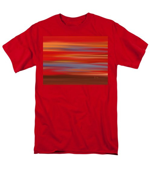 Men's T-Shirt  (Regular Fit) featuring the digital art  Evening In Ottawa Valley by Rabi Khan
