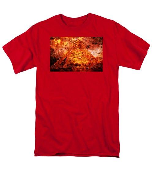 Kukulcan Pyramid Men's T-Shirt  (Regular Fit) by J- J- Espinoza
