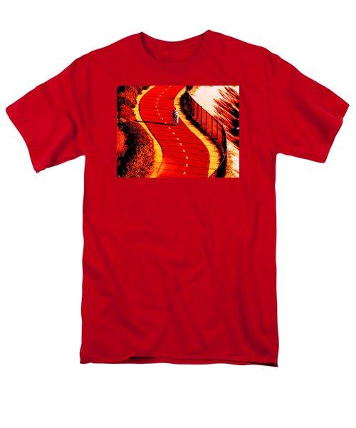 Red Path  Men's T-Shirt  (Regular Fit) by John King