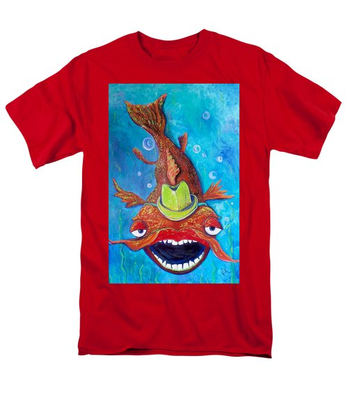 Catfish Clyde Men's T-Shirt  (Regular Fit) by Vickie Scarlett-Fisher