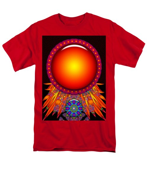 Men's T-Shirt  (Regular Fit) featuring the digital art Children Of The Sun by Robert Orinski