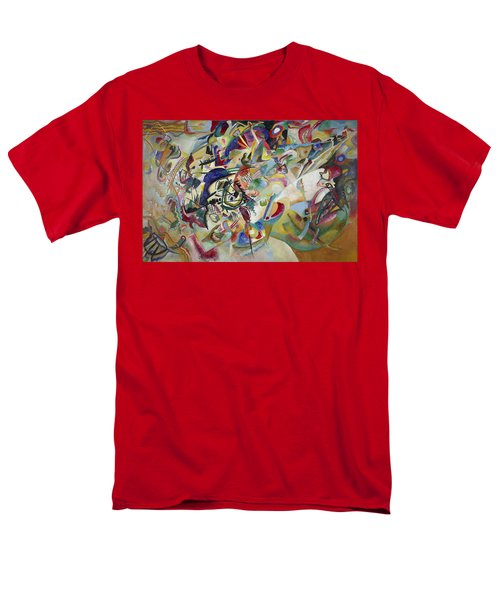 Composition Vii Men's T-Shirt  (Regular Fit) by Wassily Kandinsky