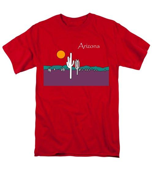 Desert Sunset Men's T-Shirt  (Regular Fit) by Methune Hively