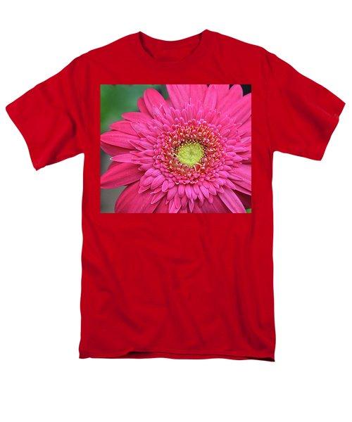 Gerbera Daisy Men's T-Shirt  (Regular Fit) by Ronda Ryan