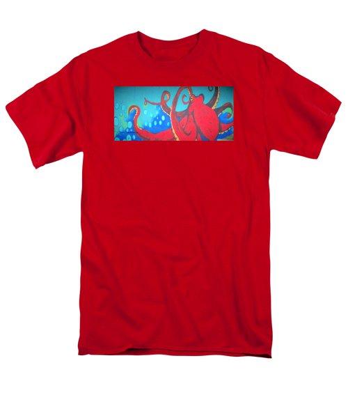 Octopus Men's T-Shirt  (Regular Fit) by Martin Cline