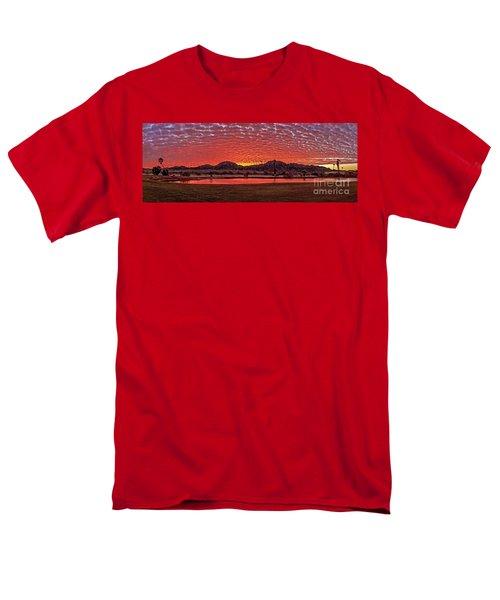 Panoramic Sunrise Men's T-Shirt  (Regular Fit) by Robert Bales
