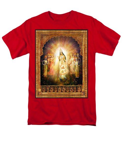 Parashakti Devi - The Great Goddess In Space Men's T-Shirt  (Regular Fit) by Ananda Vdovic