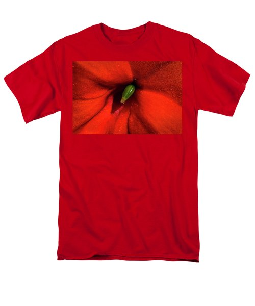 Men's T-Shirt  (Regular Fit) featuring the photograph Red And Green by Jay Stockhaus