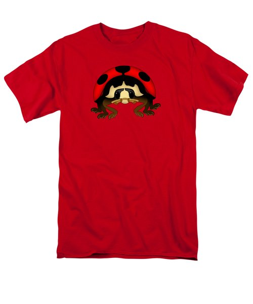 Red Bug Men's T-Shirt  (Regular Fit) by Sarah Greenwell