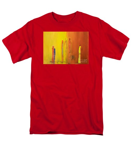 The Conversation Men's T-Shirt  (Regular Fit) by Gallery Messina