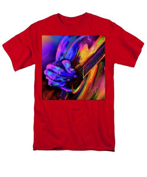 Men's T-Shirt  (Regular Fit) featuring the painting Unplugged by DC Langer