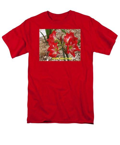Christmas Card Men's T-Shirt  (Regular Fit)