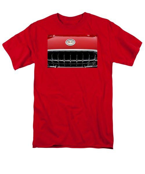 Men's T-Shirt  (Regular Fit) featuring the photograph 1959 Corvette by M G Whittingham
