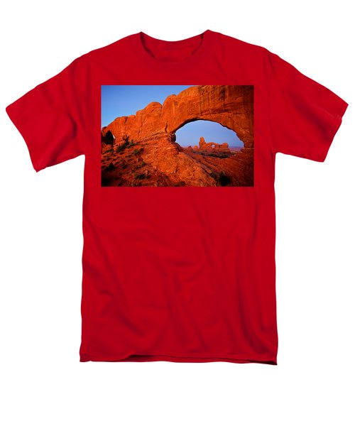Men's T-Shirt  (Regular Fit) featuring the photograph Arches by Evgeny Vasenev