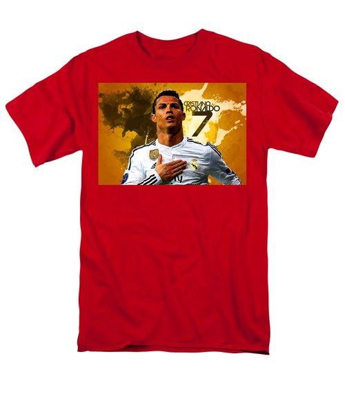 Cristiano Ronaldo Men's T-Shirt  (Regular Fit) by Semih Yurdabak