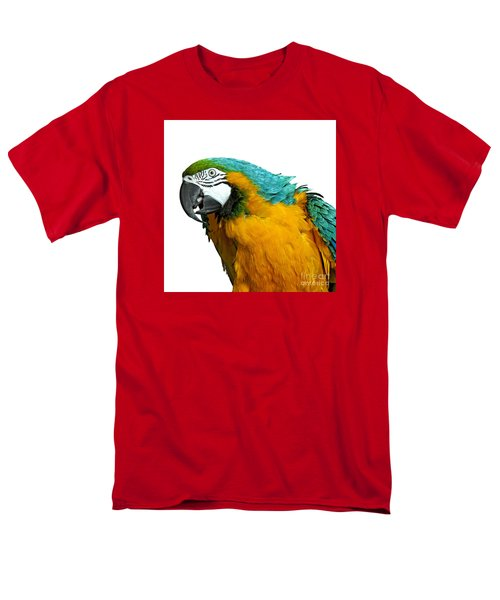 Macaw Bird Men's T-Shirt  (Regular Fit) by Gunnar Orn Arnason