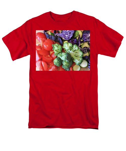 Raw Ingredients Men's T-Shirt  (Regular Fit) by Tom Gowanlock