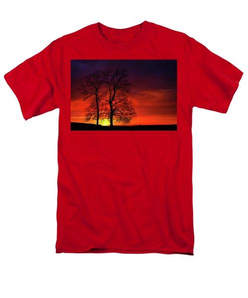 Men's T-Shirt  (Regular Fit) featuring the photograph Sunset by Bess Hamiti