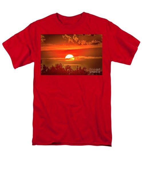 Sunset Men's T-Shirt  (Regular Fit) by Pravine Chester