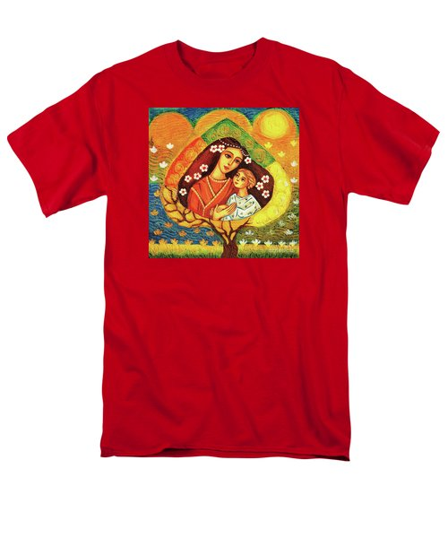 Men's T-Shirt  (Regular Fit) featuring the painting Tree Of Life by Eva Campbell