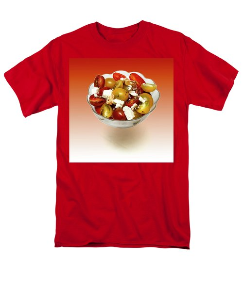 Plum Cherry Tomatoes Men's T-Shirt  (Regular Fit) by David French