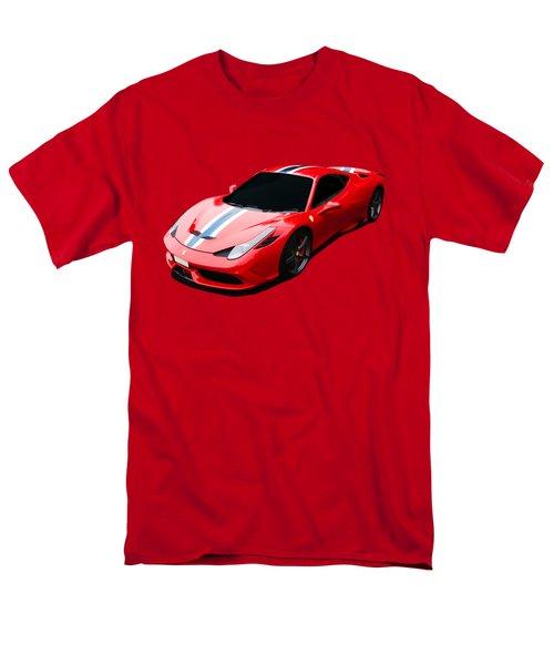 458 Speciale Men's T-Shirt  (Regular Fit) by Roger Lighterness