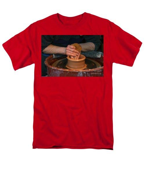 A Potter's Hands Men's T-Shirt  (Regular Fit)