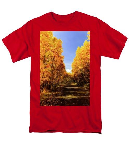 A Walk Down Memory Lane Men's T-Shirt  (Regular Fit) by Rick Furmanek